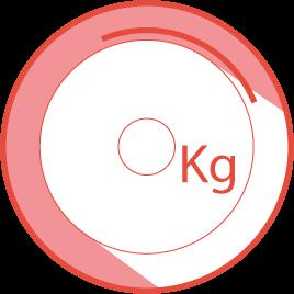 Gewicht des Schwungrads